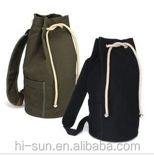 Promotional tote bag Summer sea sack barrel shape Canvas beach bag Outdoor gym bag sports basketball <strong>backpack</strong>