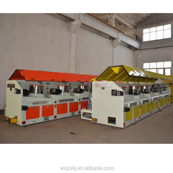 China best choice competitive price straight feeding wire drawing machine