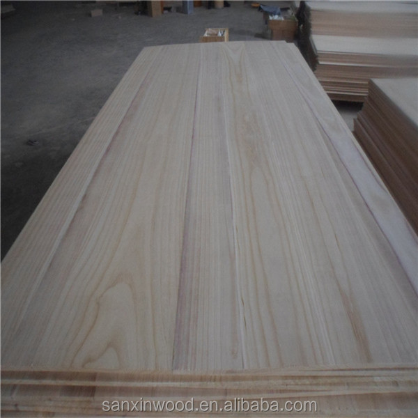High Quality Solid wood furniture panels, Paulownia