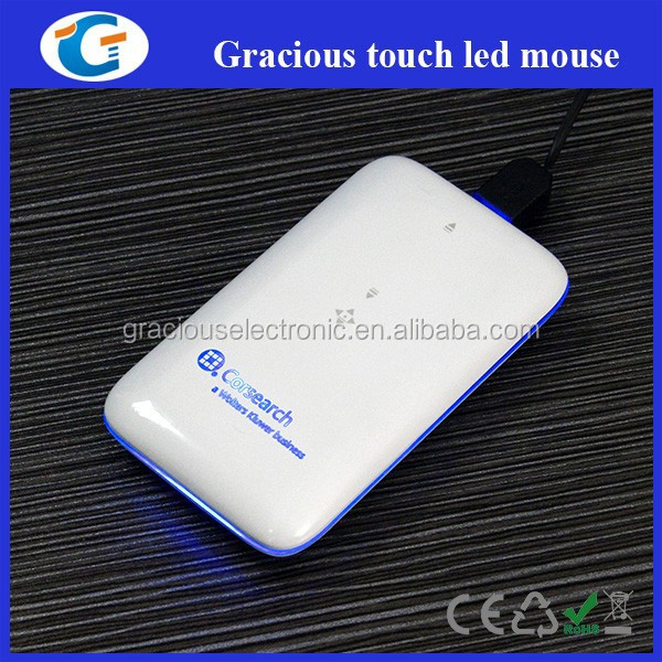 Corporate gifts premium gifts - Super slim wired touch mouse