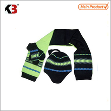 Wholesale 2017 knitted hat scarf glove set kids hat scarf gloves set for childens