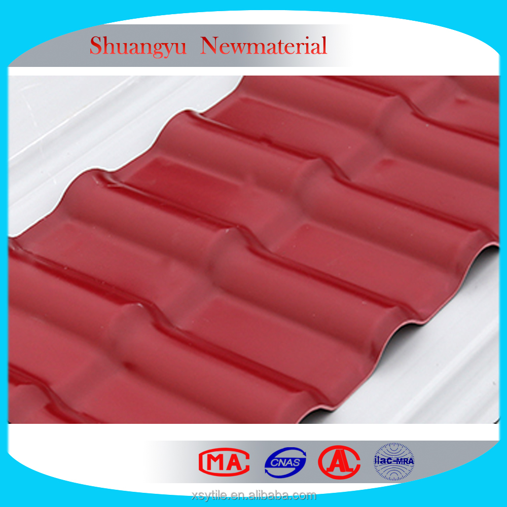 Roofing Tile Building Materials/roofing tiles alibaba China/roofing tiles pvc plastic