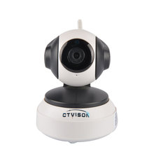 h.264 ip camera p2p cloud auto tracking 720P HD Wireless Network Monitoring IP Camera fisheye WiFi Security Baby Monitor