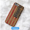 2017 New styles 3D sublimation bulk United States flag printing case smartphone