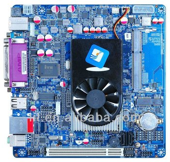 Intel Atom D2550 1.86Ghz mini-itx motherboard with 1000mbps ethernet and DC_12V input