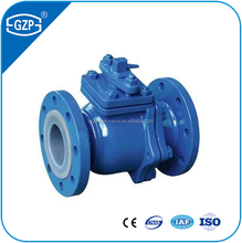 Casting ironl material WCB clip type butterfly valve for water oil and gas
