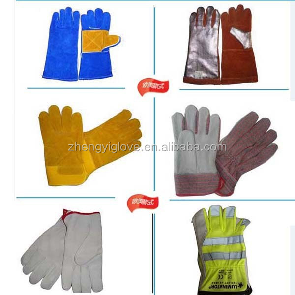 hand protection foil gloves for oil work