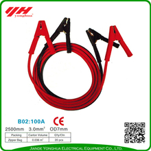 Guaranteed quality battery start jumper booster cables