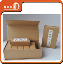 High class fancy and quality tea bags paper packaging box,