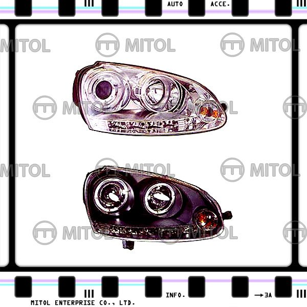 For Volkswagen Golf V 03-08 Projector Head Light Front Lamp