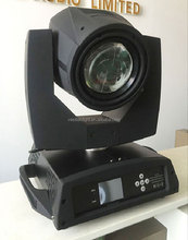 hot touch screen bright sharpy full color rotating 16 prism beam moving head light 200w 5r / 230w 7r