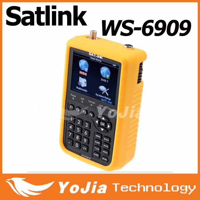 Original satlink ws-6909 digital DVB-S&DVB-T satellite finder meter