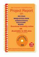 Project Report On Integrated Unit Of Bio Coal Briquettes From Agricultural Cellulose Waste
