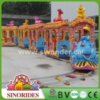 Sinorides Factory ! Electric Amusement Train,Safari Elephant Train Rides For Sale