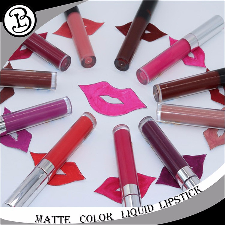 Matte lipgloss Waterproof 12 colors cosmetics makeup private label