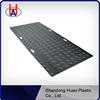 HDPE temporary access mating and road mats / anti-slip outdoor ground mat