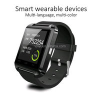 (Factory) MTK Bluetooth U8 Smart Watch for Promotions, Multi Language Supported U8 Smartwatch for Smartphones with Altimeter