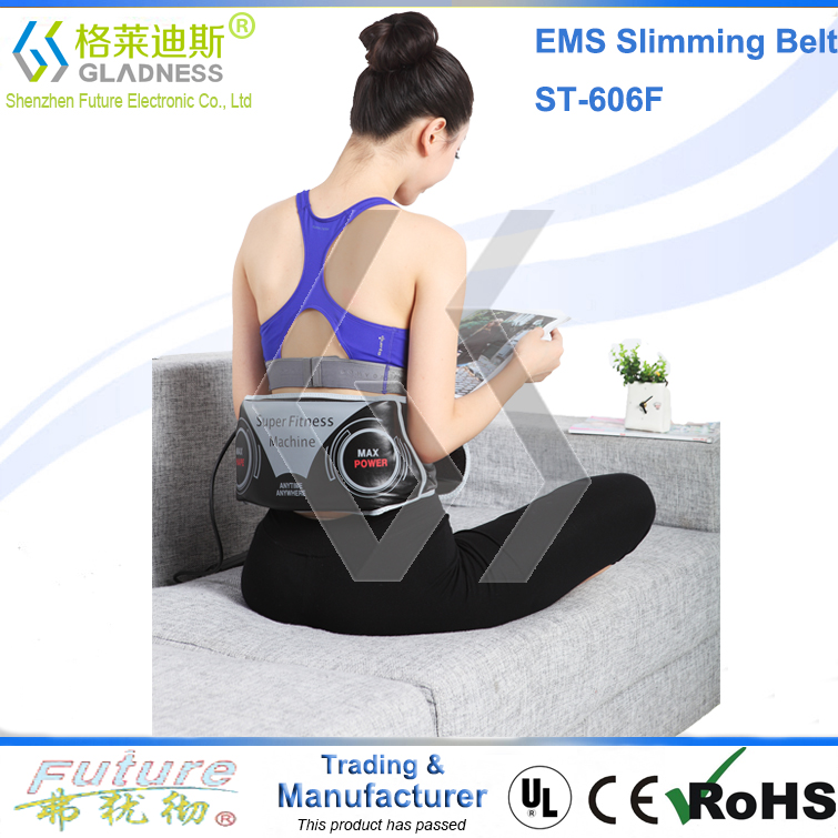 Home use Heating Massage Xtreme Shaper Slimming Belt Abdominal Slimming Belt EMS Slimming Belt As TV Shopping