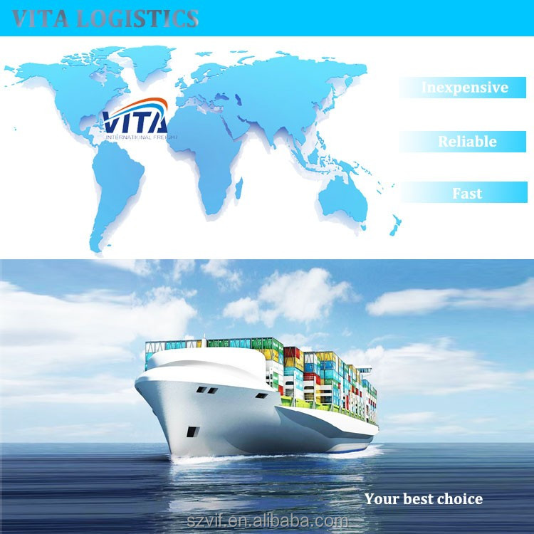 Sea shipping logistics cost to Melbourne