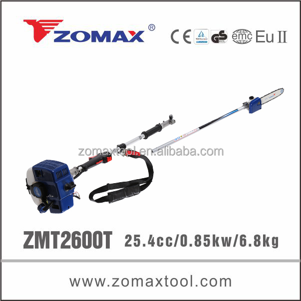 ZOMAX ZMP2600T 0.85KW telescopic robin pole chainsaw