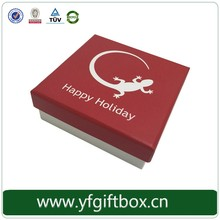 2016 New Design Paper Chocolate Packaging Box With Grid