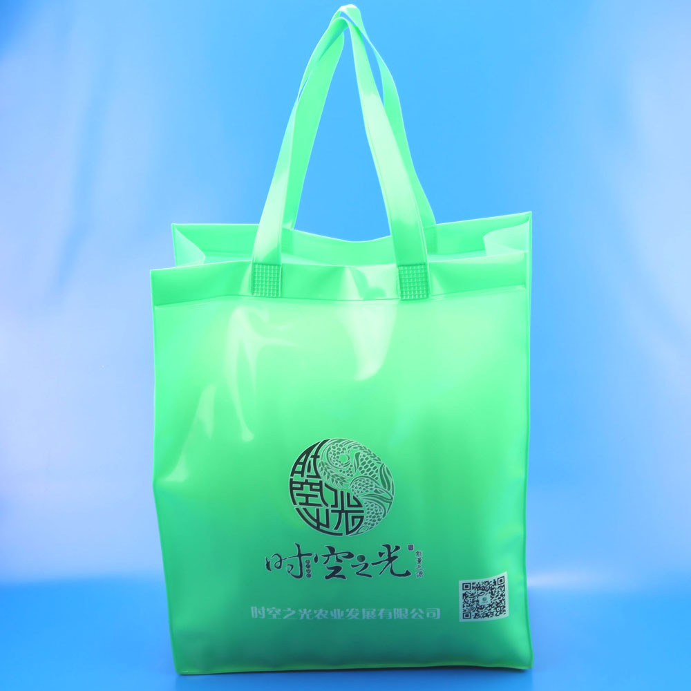 Wholesale Cheap Two Tones pvc Conference Tote Bag