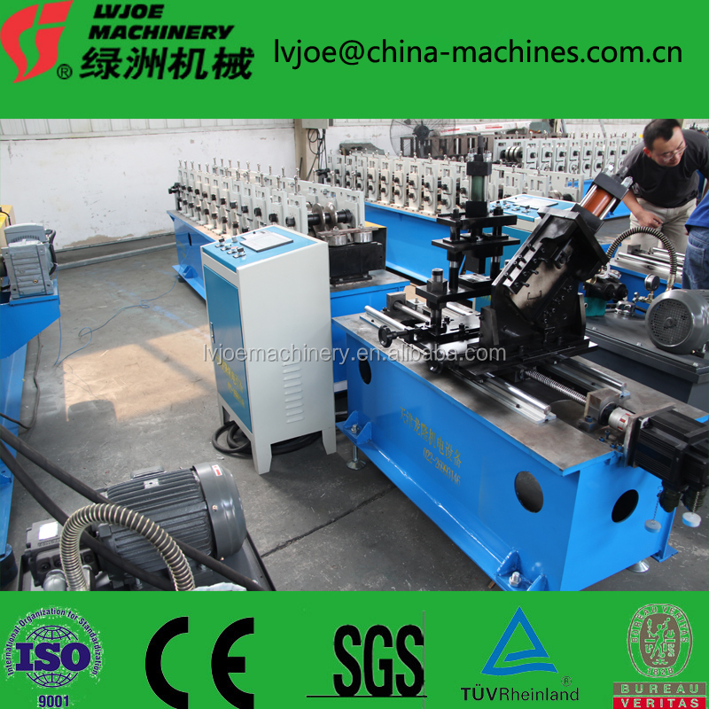 light Steel Keel Cold Roll Forming Machine Metal Stud And Track Cold Forming Production line