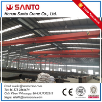 Single girder overhead crane price 5 ton for wholesale