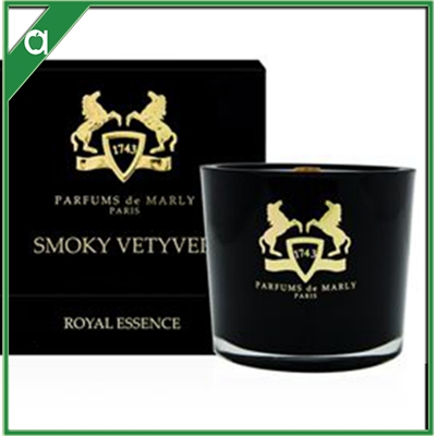 Royal Essence Gold & Black Luxe Soy Blend Wax Scented Aroma Candle