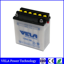 12n5 3b motorcycle battery 12N5-3B conventional dry charged