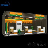 aluminum truss trade show booth/party supply trade show/trade show display booths