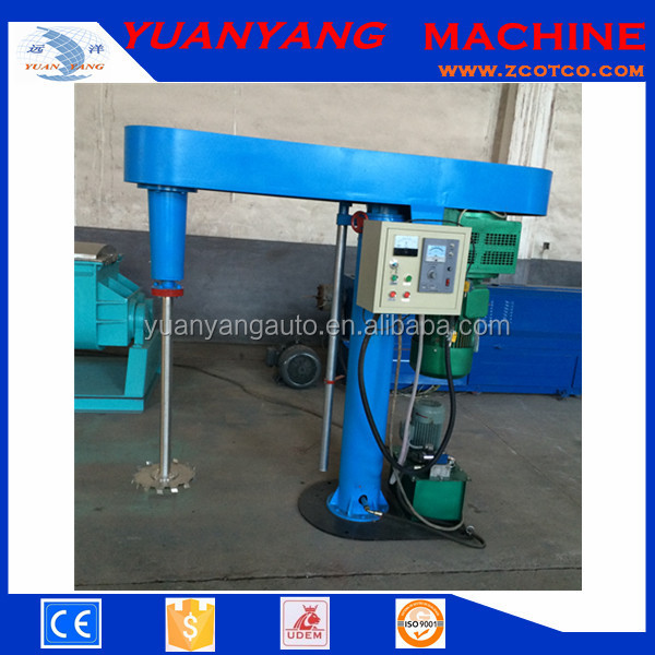 Hydraulic lift Paint Making machine/ Varaible speed Ink dissolver/ High speed Coating Dispersion mixer