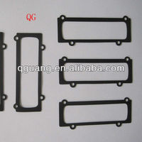 Rubber gasket for lighting fitting