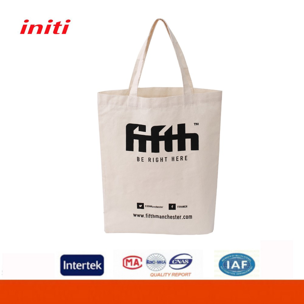 Factory Cheap Price ECO Friendly High Quality Plain White Cotton Canvas Tote Bag
