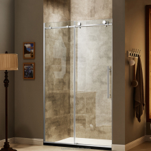 American Style 10Mm Frameless Acrylic Tempered Glass Bathroom Sliding Door Shower Screen