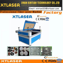 CO2 wood laser engraving machine/rubber stamp machine price/Mini laser flash stamp machineXTE-1325