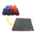Roll-up Machine Washable Outdoor Picnic Blanket Waterproof Blanket Mat