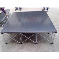 Coolbang aluminum easy install rectangle event portable stage