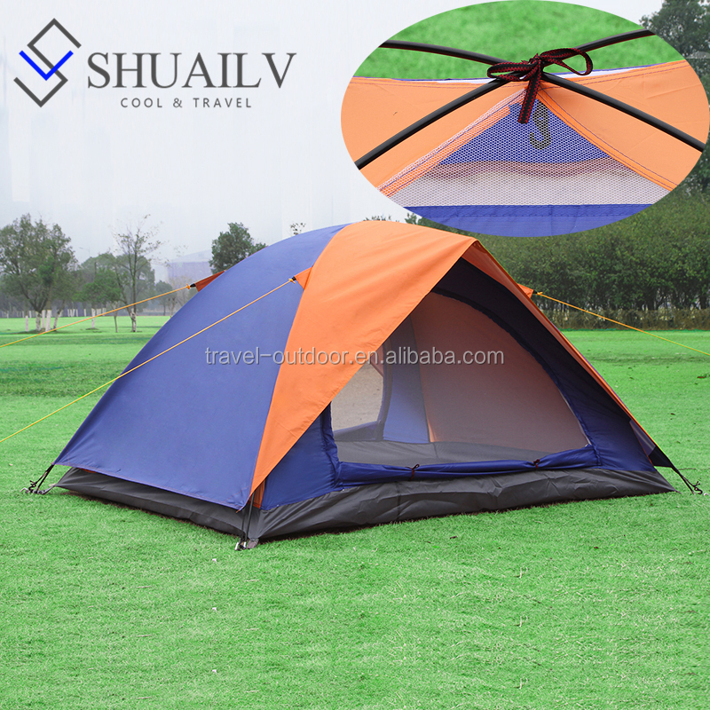 2 Person Couple Lovers Beach Tent Waterproof Two Layer Rainproof Sunshade Ultra Light Tent In Camping Outdoor Hiking Tents