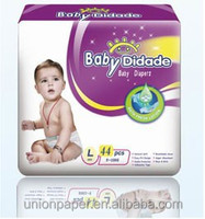 Hugs baby diapers with blue ADL manufacturer