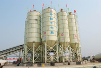 Quality reasonable price 200T cement silo for used grain storage