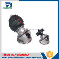 Stainless Steel Pneumatic Tank Bottom Valve Drain Valve
