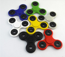2017Hand Spinner Fingertips Spiral Fingers Fidget Spinner Hand Spinner Acrylic Plastic Fidgets Toys Gyro Toys With Retail Box