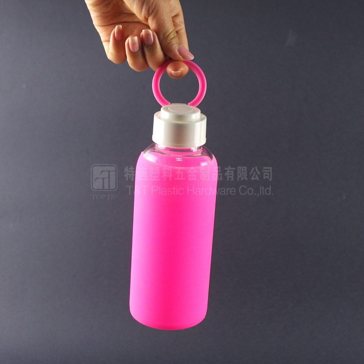 Water Bottle Online Shopping: Retail Online Shopping Glass Water Bottle With Silicone