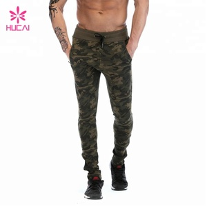 Wholesale military camouflage men custom jogger pants
