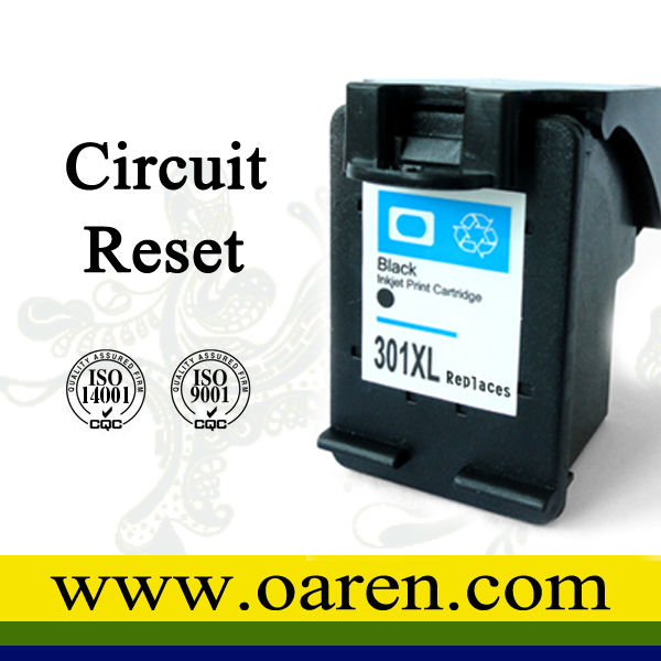 For hp original ink cartridge for hp 301 factory supply