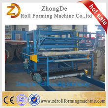 Light weight good price roof panel machine for sandwich roof