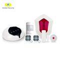 LoRa communication integrated smart wifi sia alarm system for professional alarm monitoring,support OEM and ODM