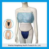 transparent panties and bra,disposable bra,disposable nonwoven bra