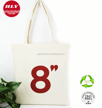 Hot Sale 10 OZ Natural Cotton Plain Canvas Tote Shopping Bag With Design